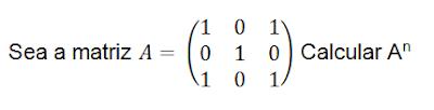 Potencia de una matriz por recurrencia