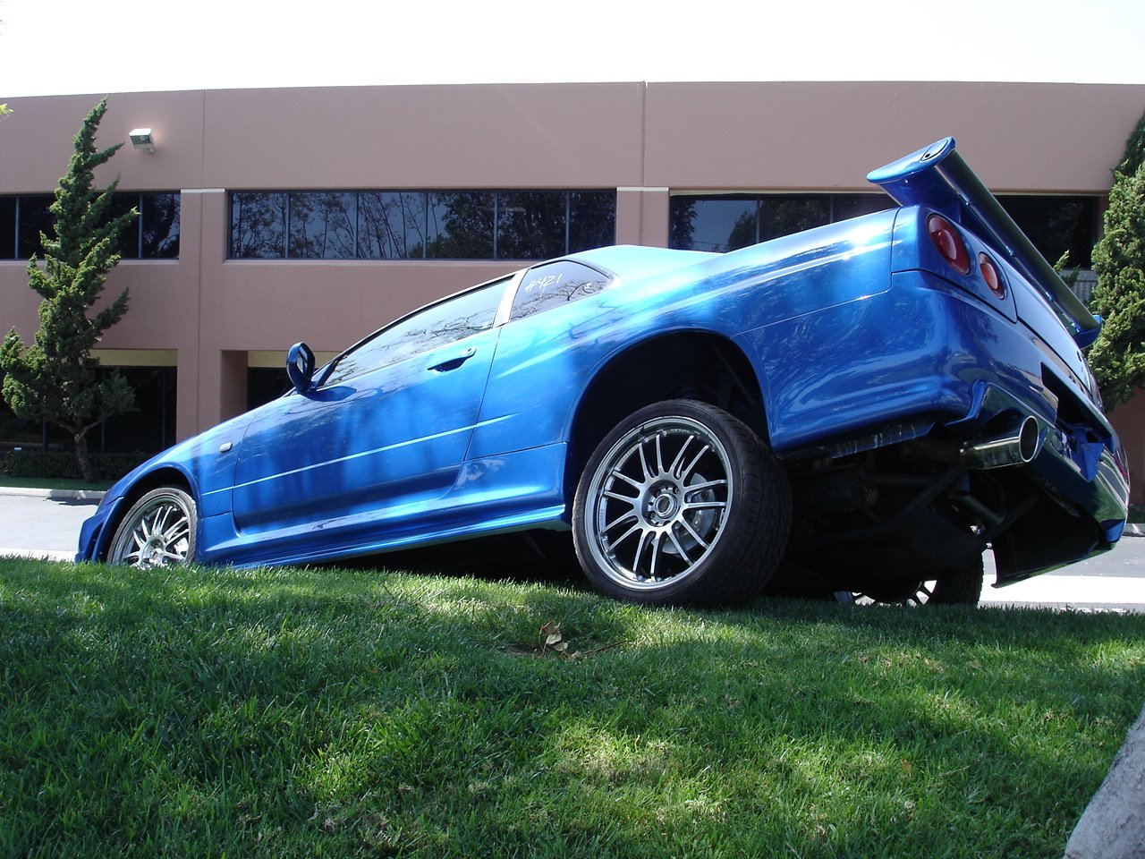Does not actually have ATTESA. Fast and Furious 4 buggy car. Video here