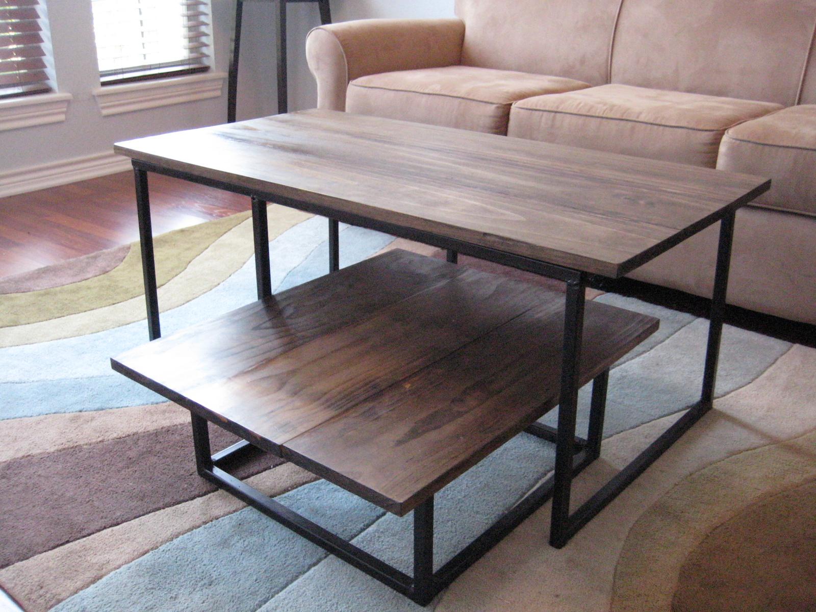Reclaimed Wood Headboard Coffee Tables