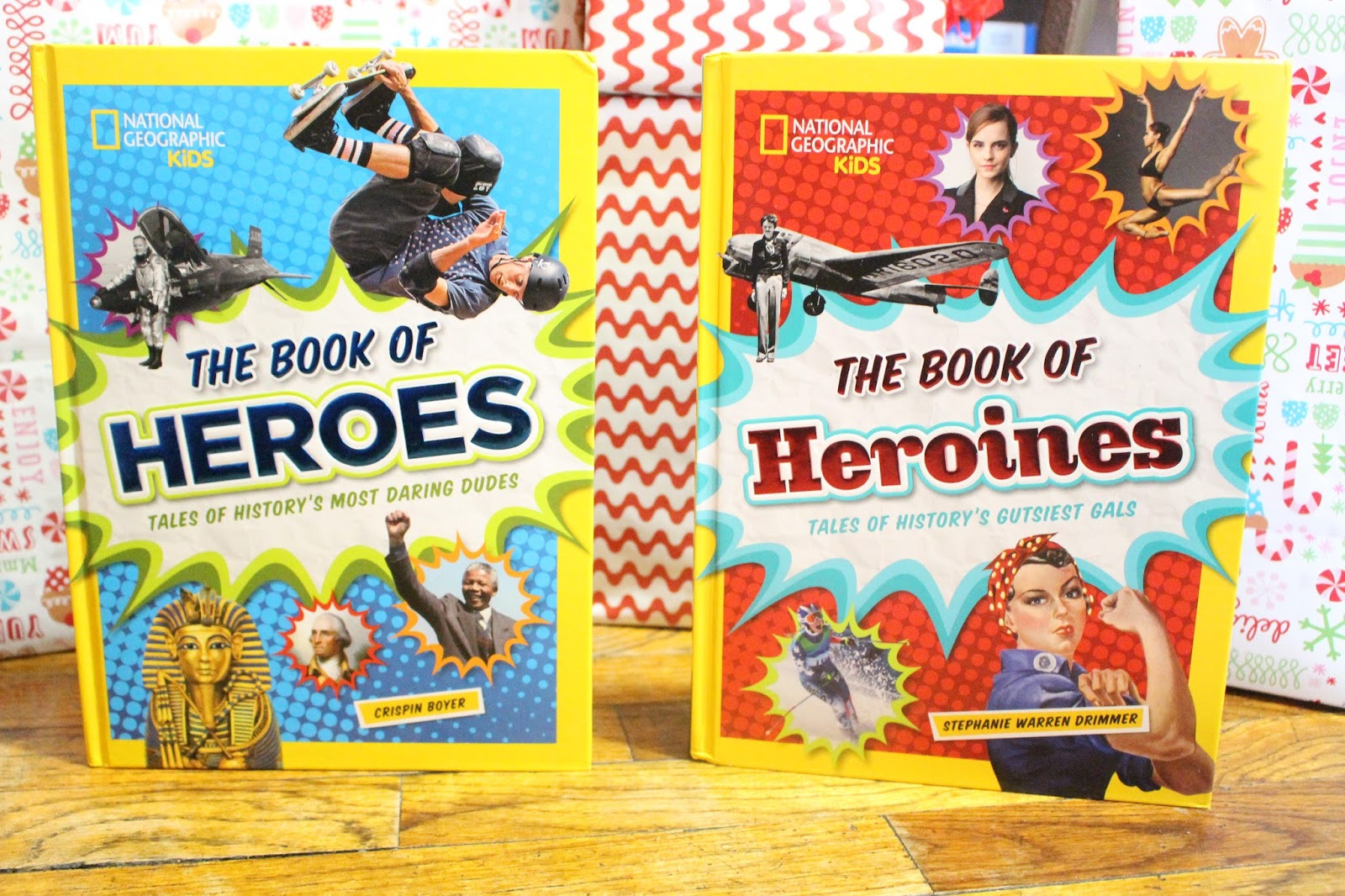 Day 7: National Geographic Kids Book of Heroes and Heroines