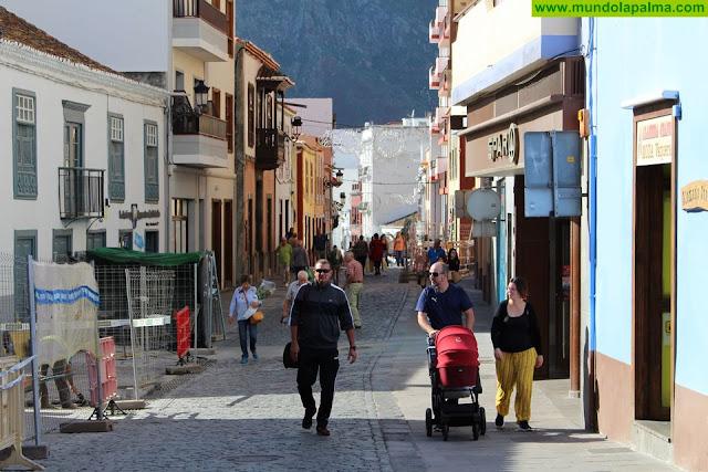 El Ayuntamiento de Santa Cruz de La Palma avanza con el proceso de peatonalización del casco histórico Próximamente finalizarán las obras de la parte norte de la ciudad