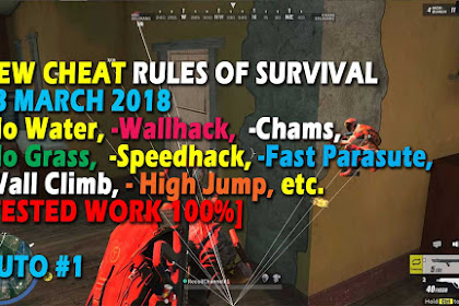 Cheat Rules of Survival Serin 9.0 Update 23 Maret 2018
