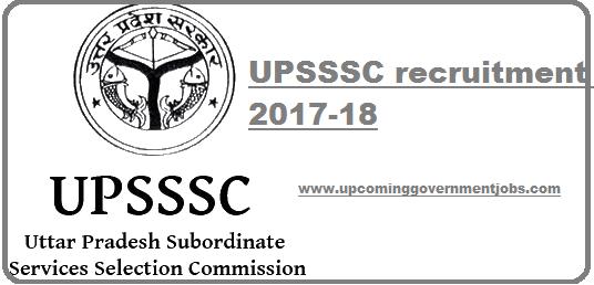UPSSSC 2017-2018