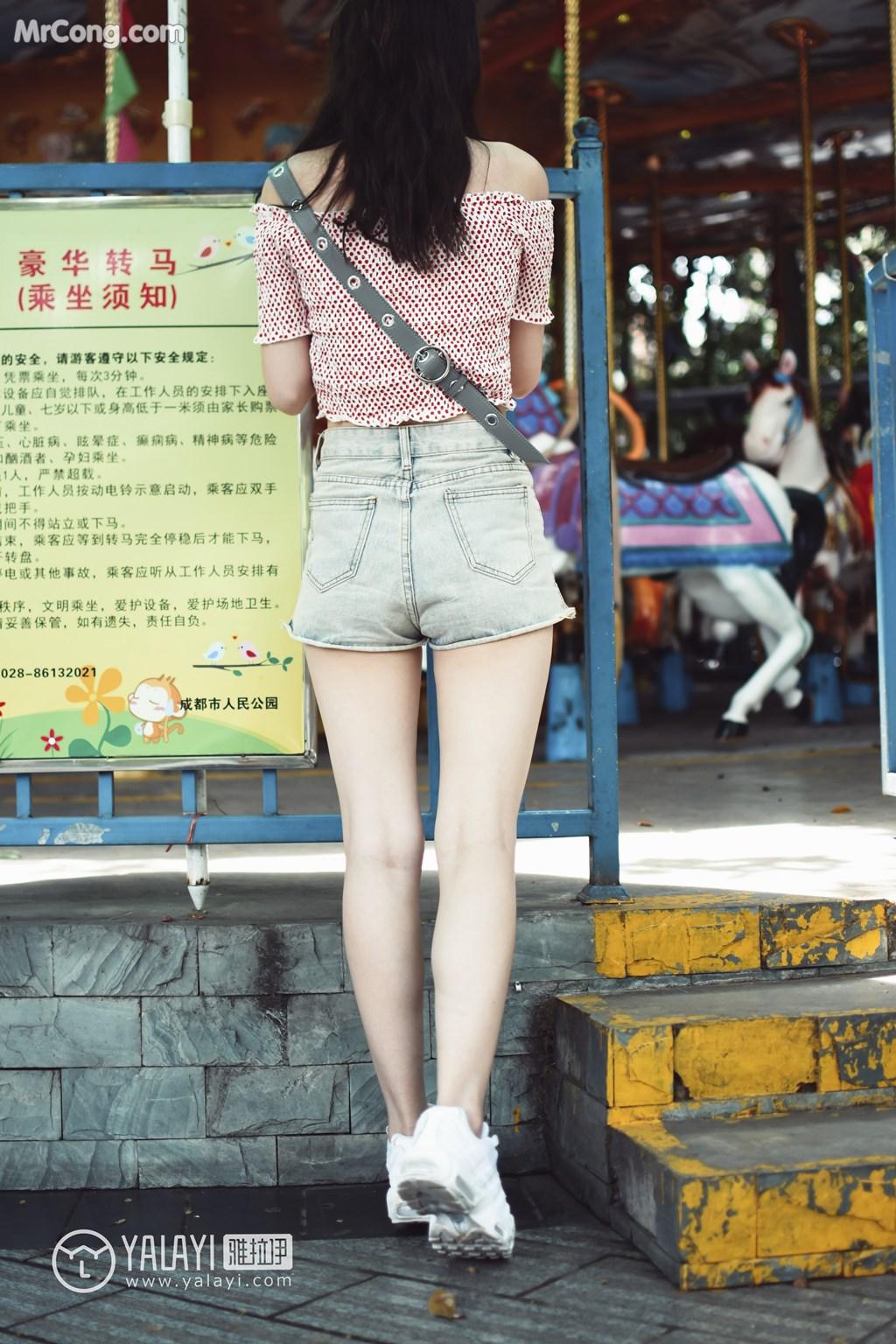 Image YALAYI-No.006-MrCong.com-008 in post YALAYI No.006: 叶肖肖 (62 ảnh)