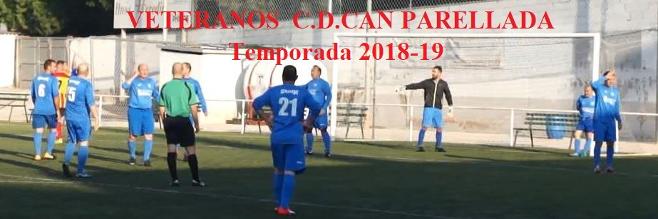 VETERANOS C.D.CAN PARELLADA 2018-19