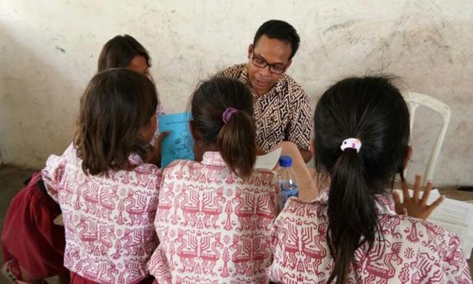 Penelitian Penggunaan Bahasa di Kelas Awal di Sumba Temukan Fakta Begini