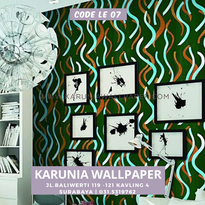 wallpaper dinding geometris