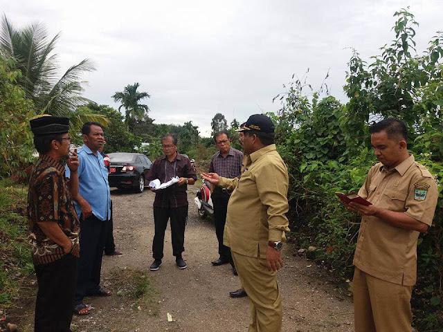 Wabup Suhatri Bur Hadiri Penentuan Titik Koordinat Lokasi Kampus Politeknik Negeri Padang