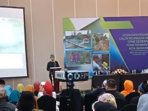 Pendaftaran PDAM Tirtawening area Bandung Timur