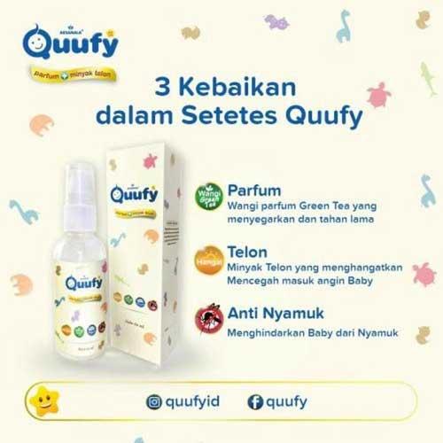 Minyak Telon Quufy Minyaknya Anak Indonesia Dengan Berbagai Kandungan dan Manfaat Luar Biasa, bukusemu