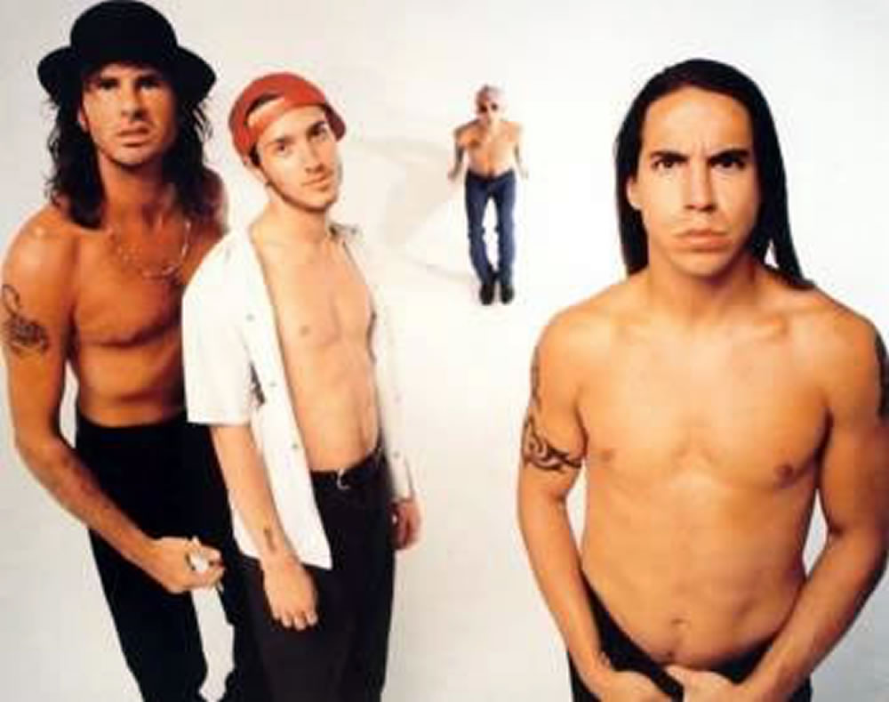 Red hot chili peppers suck my kiss album was