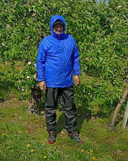 Bluza Costabona z pertexu i spodnie RainCut W37 L34