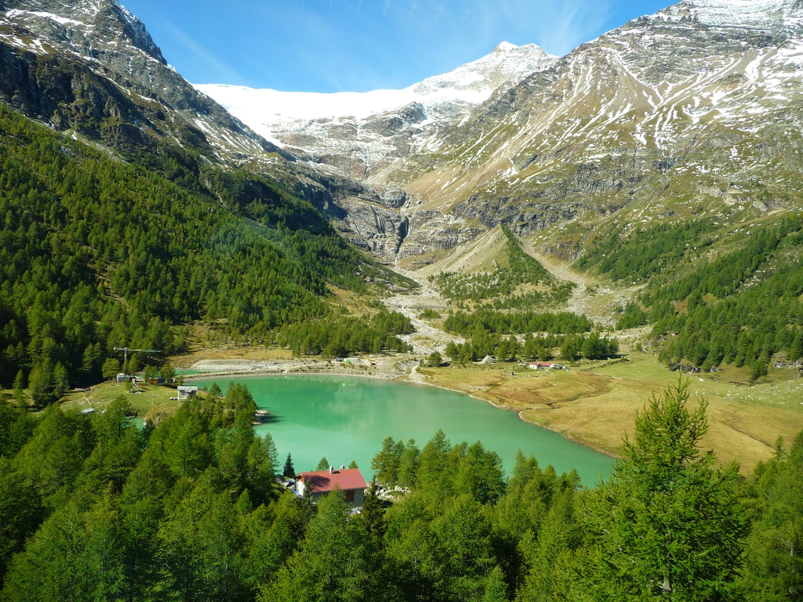 Views Of The Swiss Alps Along The Bernina Express © 2014 For The Love Of Italy