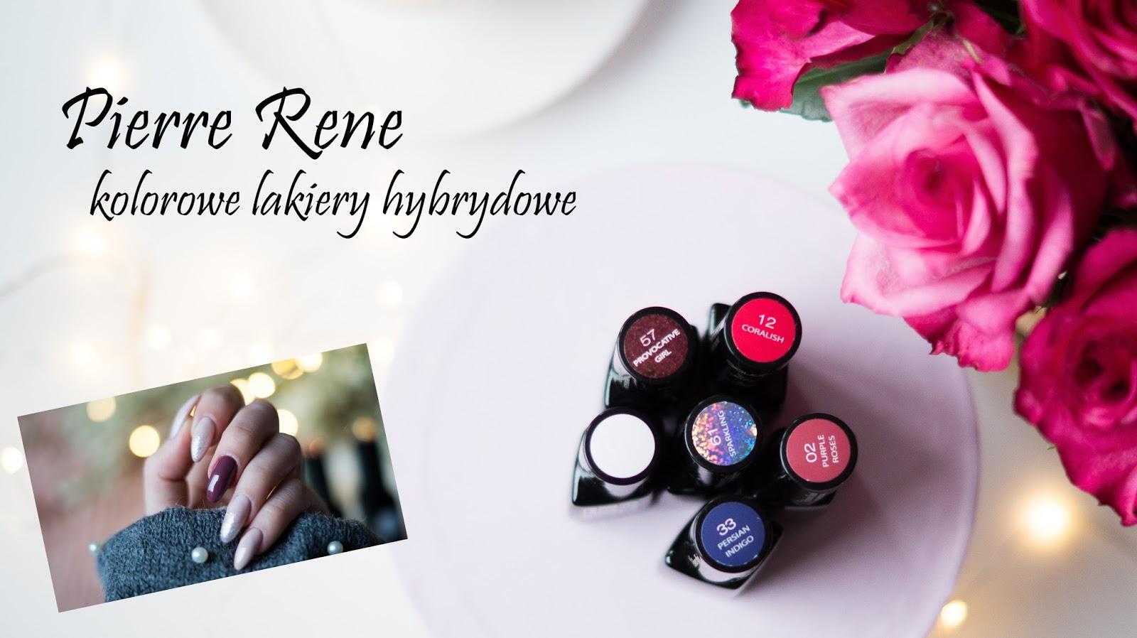 Chodź zrobimy paznokcie lakierami kolorowymi Pierre Rene...