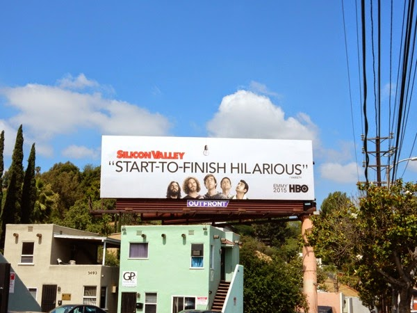 Silicon Valley 2015 Emmy billboard
