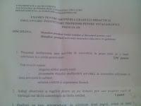 Subiecte gradul II educatoare Bucuresti, august 2015