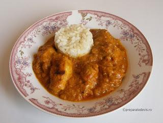 Curry de porc retete culinare,