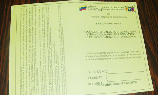 Tarjeta de vacunación amarilla: cadena de extorsión en el aeropuerto de Maiquetía