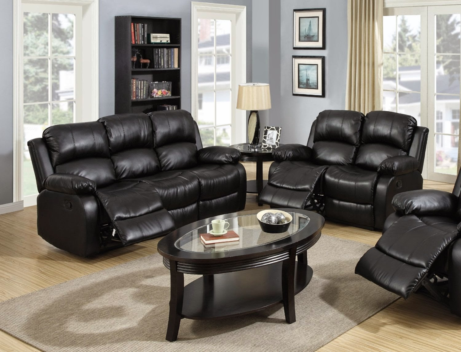 sofa loveseat sets sale leather slipcovers for cushions reclining