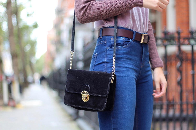 velvet mini bag new look peexo