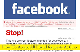 How to Accept All Facebook Friend Requests At Once