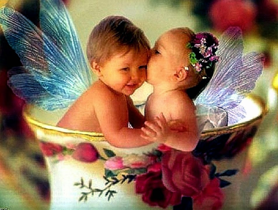 Kiss For Babies Wallpapers Hd Background Wallpaper Gallery