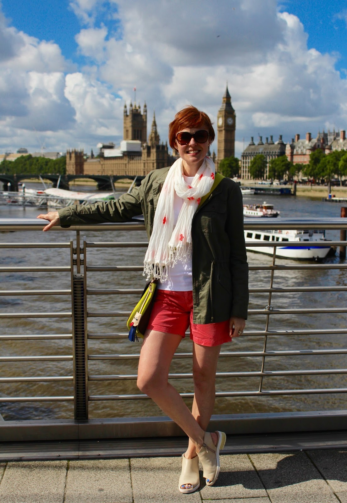 Fake Fabulous | What to wear for a sightseeing trip to London.