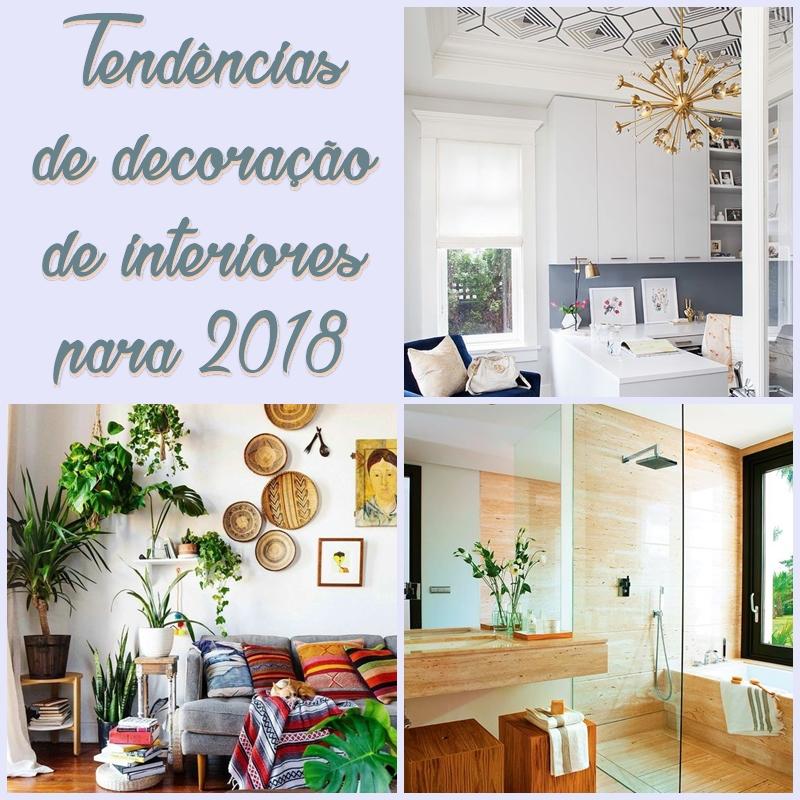 Tendências De Decoração De Interiores 2017: Tendências De Decoração Para 2018 Reciclar E Decorar