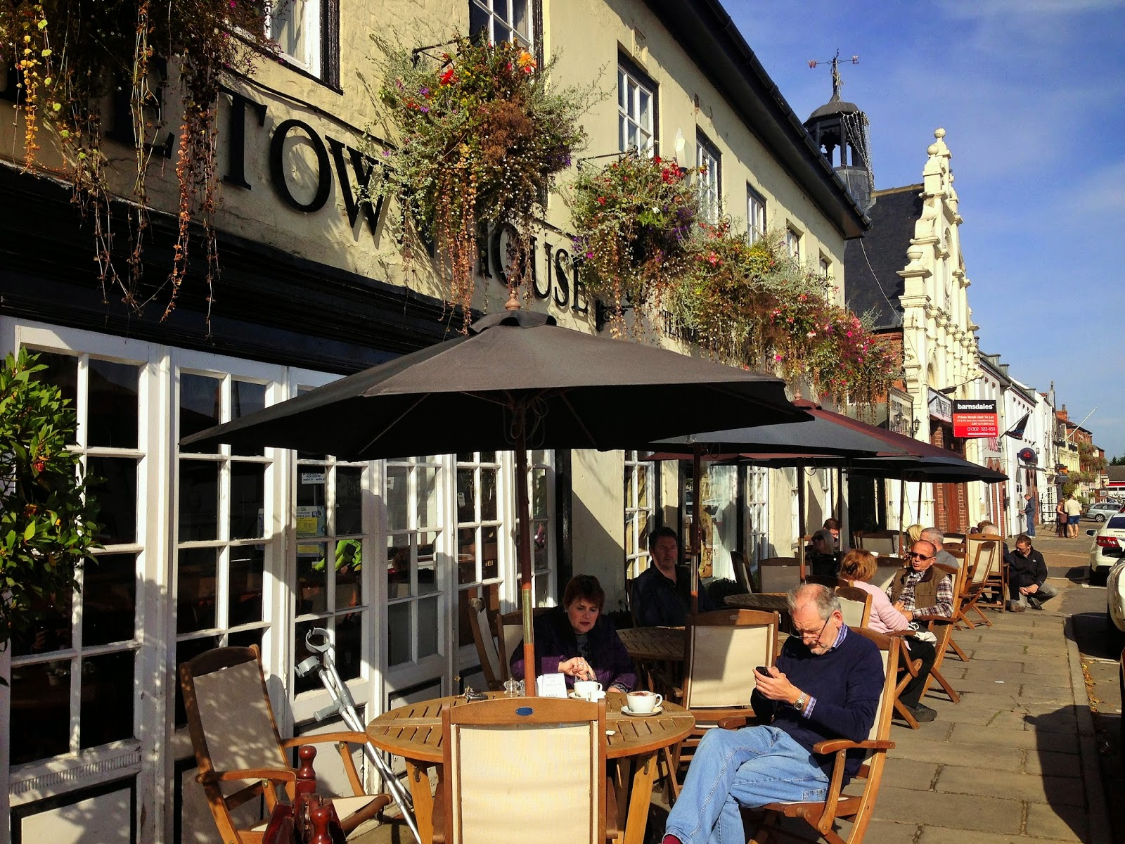 Sunday Brunch at the Town House Tea Rooms, Bawtry
