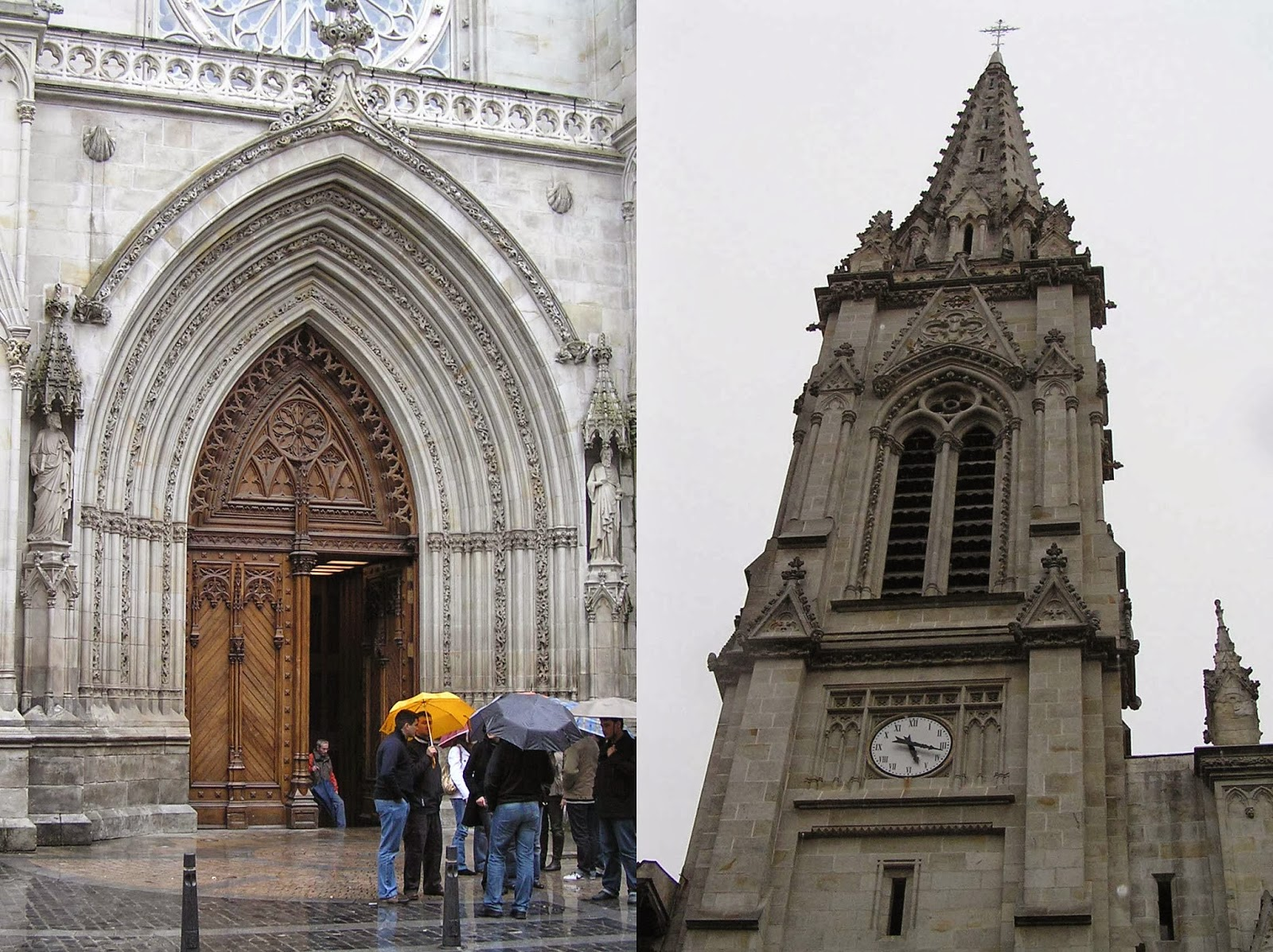 Catedral de Santiago, Bilbao.