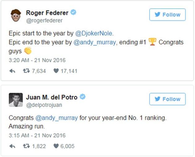 Federer và cả thế giới ngả mũ trước chiến công lịch sử của Murray