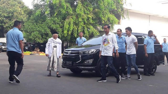 Meski Tanpa Ma'ruf Amin, Cakra-19 Tetap Dukung Jokowi