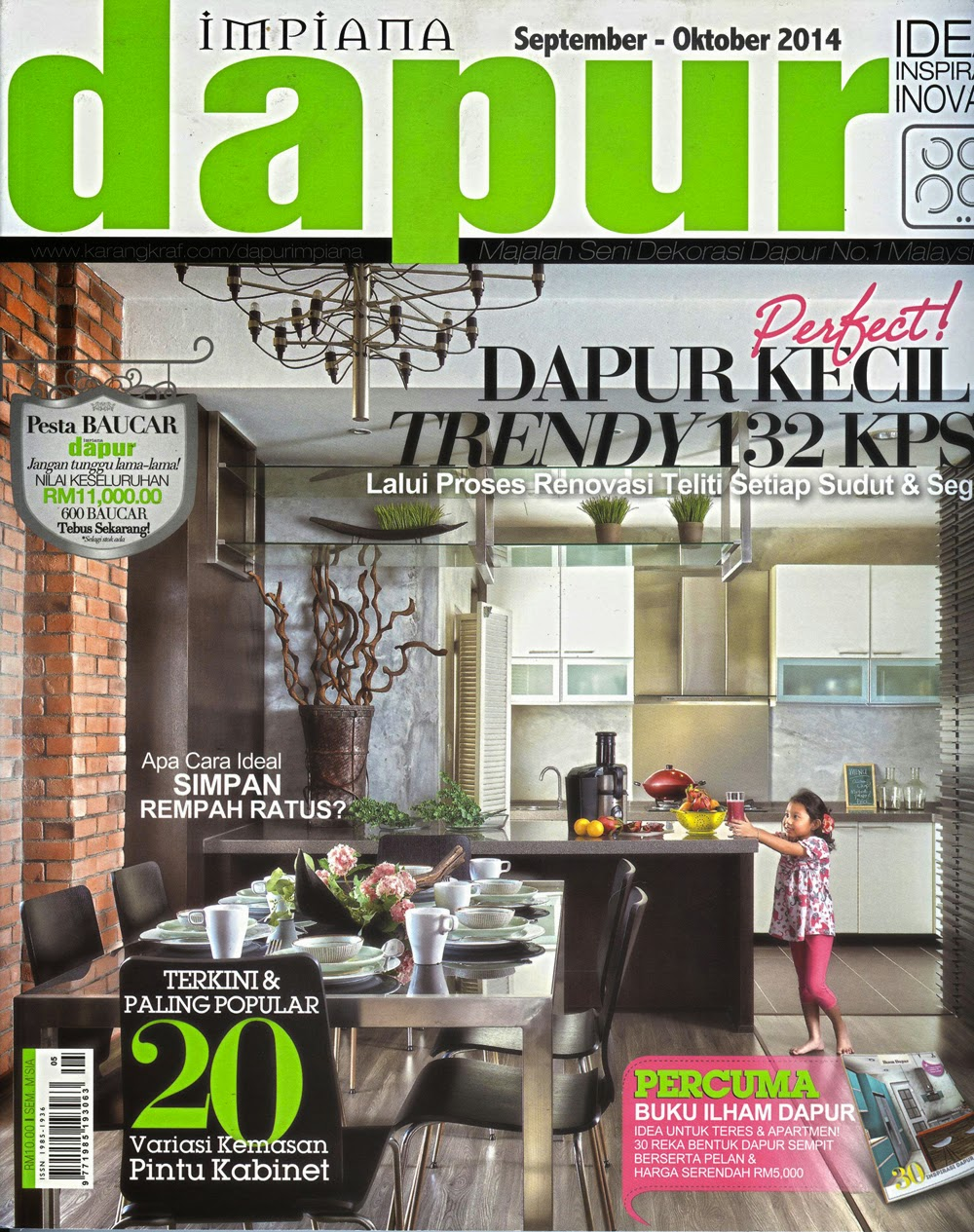If You Re Still Wondering What Our Angels Are Serving In One Of Kitchens Look Through The Pages Latest Dapur Impiana To Know More