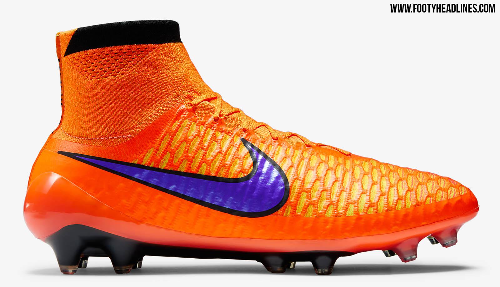 separation shoes ac559 f4779 NIke Magista Orden II FG Fußball Cleats Schuhe 2017 Volt Orange Schwarz  Rosa Marsafenet.info