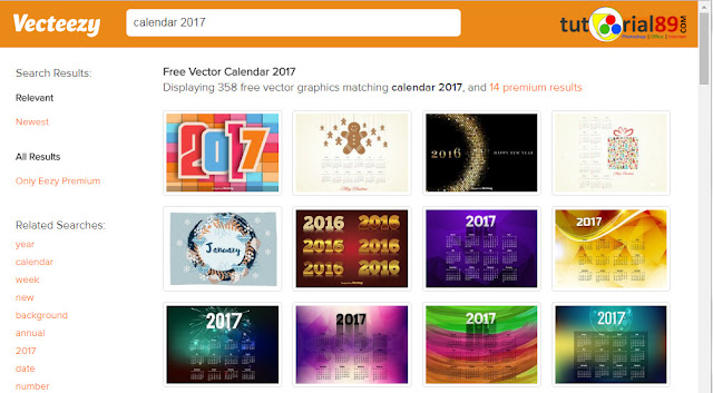 Kumpulan situs tempat download kalender 2017 yang bisa diedit