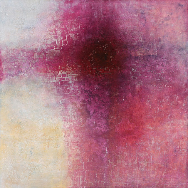Image of the abstract painting entitled Tanner's Annunciation by artist Martha Hope Carey