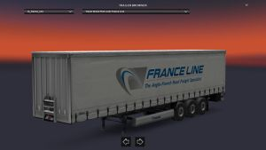 Krone France Line Trailer