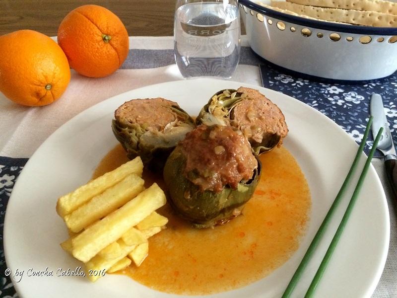 alcachofas-rellenas-carne-2