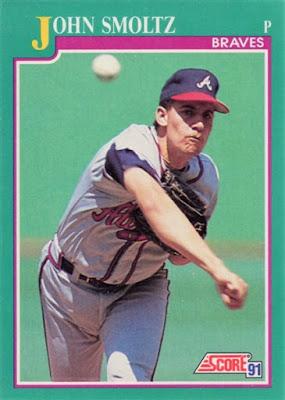 1991 Score John Smoltz