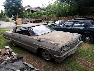 DIJUAL Bahan Chevrolet Impala 1964 Hardtop Pilarless No Paper
