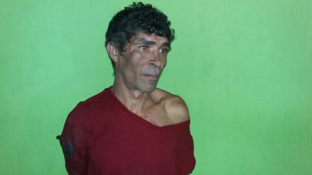 Apos matar agricultor, homem é encontrado dormindo em cima de espingarda na BR 364