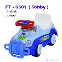 Family FT6501 Tobby Ride-on Car