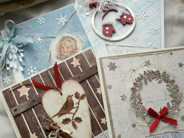 kartki na Boże Narodzenie na zabawę u Uli