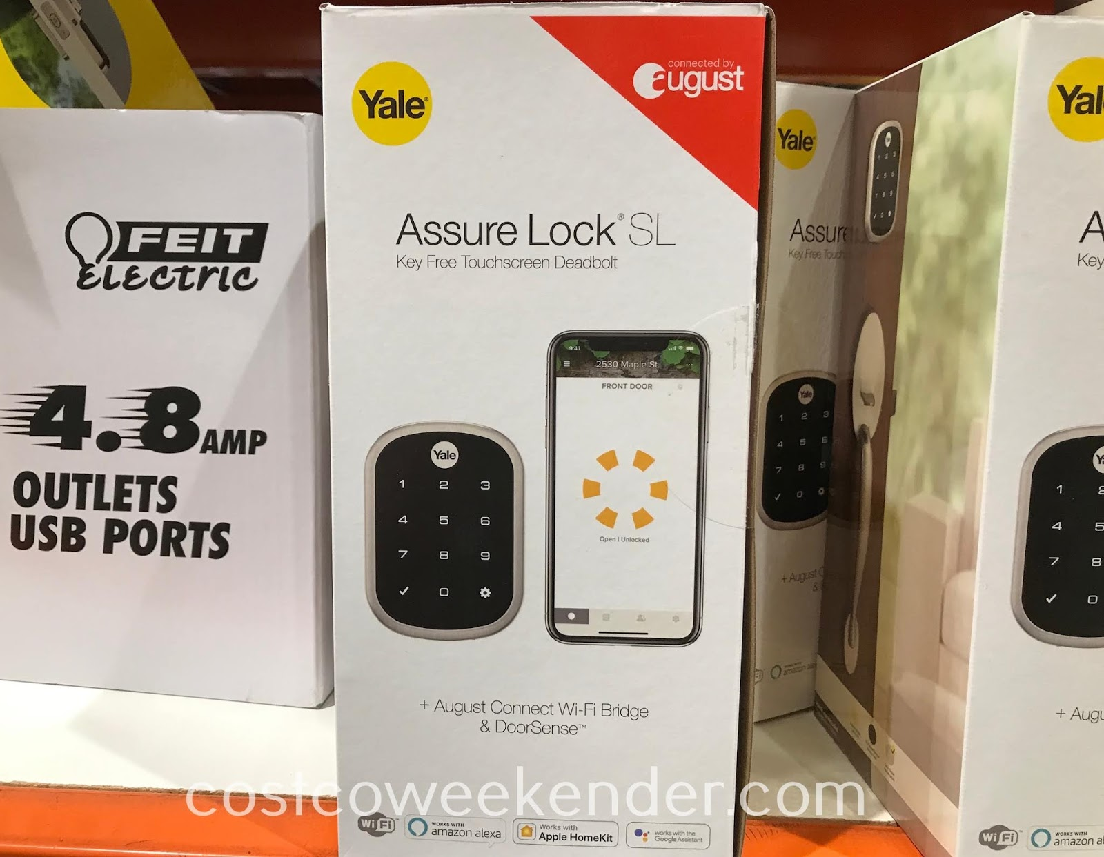 Costco 1369260 - Airbnb hosts will love the Yale Security Assure Lock SL