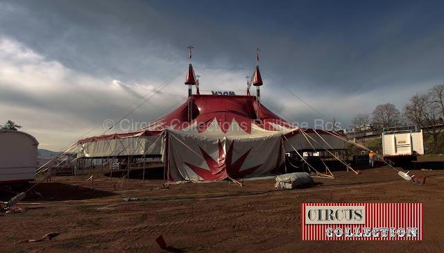 le cirque Nock prend forme