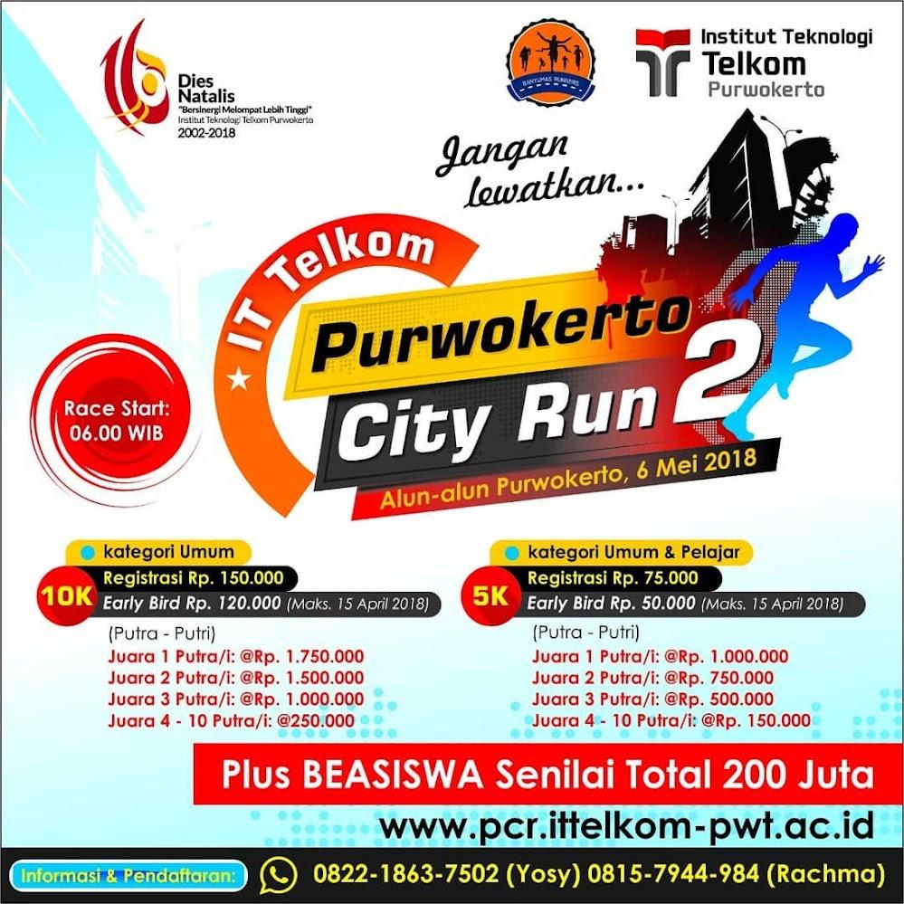 IT Telkom - Purwokerto City Run 2 • 2018
