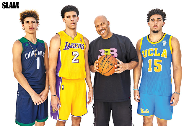 67de47fa22d LaVar Ball made headlines again when a report came out that his youngest  son LaMelo would no longer be attending Chino Hills High School and instead  will be ...