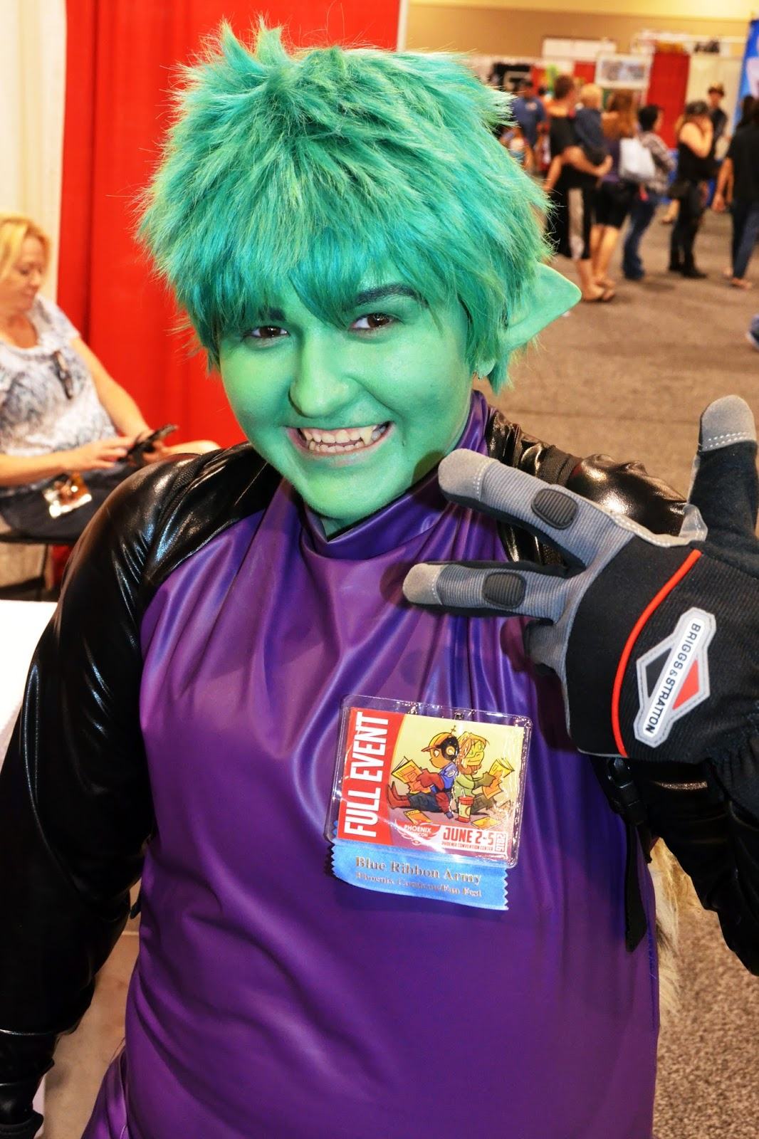 Dc Teen Titans Starfire Cosplay-3876