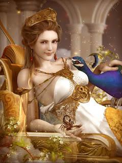 diosa hera, toda una seductora