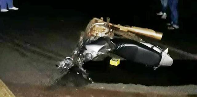 Nova Tebas: Jovem de 28 anos morre em acidente na PR-487